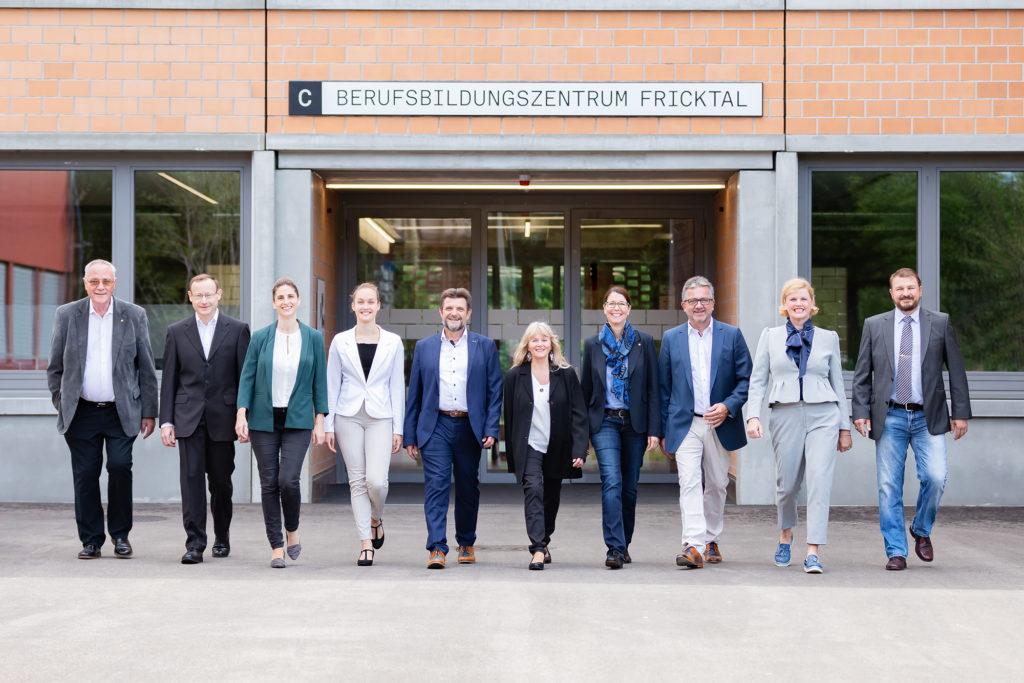 Gruppenfoto der Kandidatinnen und Kandidaten der Grossratswahlen 2020